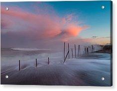 Sunrise At Mackerricher Acrylic Print by Mike  Walker