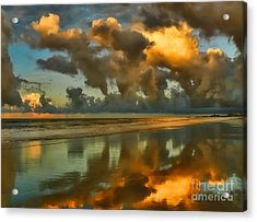Sunrise At Myrtle Beach II Acrylic Print by Jeff Breiman