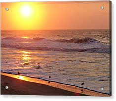 Sunrise At Ocean Isle Acrylic Print