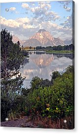 Sunrise At Oxbow Bend 3 Acrylic Print by Marty Koch