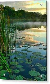 Sunrise At Pokagon State Park  Acrylic Print