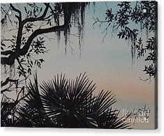 Sunrise At Shellmans Bluff Acrylic Print