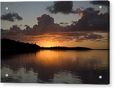 Sunrise At Smiths Lake Acrylic Print by Sandro Rossi
