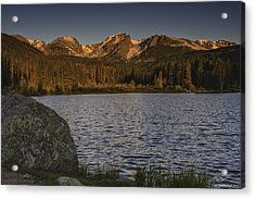 Sunrise At Spraque Lake Acrylic Print by Tom Wilbert