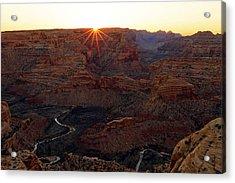 Sunrise At The Wedge Acrylic Print