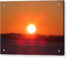 Sunrise At Wroxton Acrylic Print
