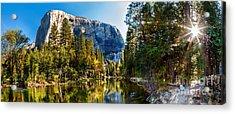 Sunrise At Yosemite Acrylic Print