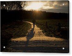 Sunrise Atmosphere Acrylic Print by Mike Santis