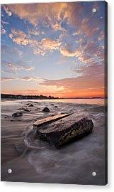 Sunrise Bayswater Beach Acrylic Print