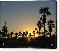 Sunrise Belmont Park San Diego 1 Acrylic Print