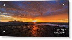 Sunrise- Bonneville Salt Flats II Acrylic Print by Holly Martin