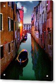Sunrise Canal Acrylic Print