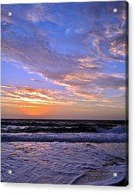 Sunrise Cloudshadows Acrylic Print by Kim Bemis