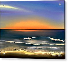 Sunrise Acrylic Print by Dale   Ford