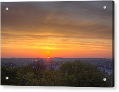 Sunrise Acrylic Print by Daniel Sheldon