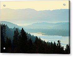 Sunrise Donner Lake California Acrylic Print