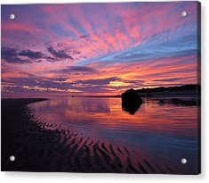 Acrylic Print featuring the photograph Sunrise Drama by Dianne Cowen