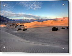 Sunrise Dunes Acrylic Print by Peter Tellone