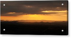 Sunrise From Enchanted Rock Acrylic Print