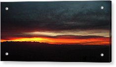 Sunrise From The Rim 002 Acrylic Print
