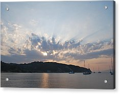 Acrylic Print featuring the photograph Sunrise by George Katechis