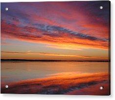 sunrise Glow Acrylic Print