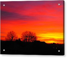 Sunrise Harrow Acrylic Print