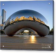 Sunrise In Cloudgate Acrylic Print