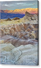 Sunrise In Death Valley Acrylic Print by Juli Scalzi