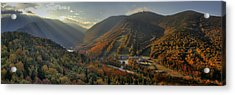 Sunrise In Franconia Notch Acrylic Print