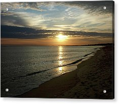 Sunrise In Norfolk Va Acrylic Print