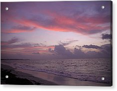 Sunrise In Riviera Maya Acrylic Print by Dave Dos Santos