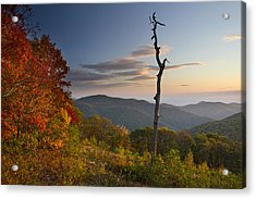 Sunrise In Shenandoah National Park Acrylic Print by Pierre Leclerc Photography