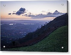 Sunrise In The Severn Valley Acrylic Print