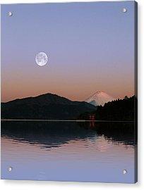 Sunrise Japan  Acrylic Print by John Swartz