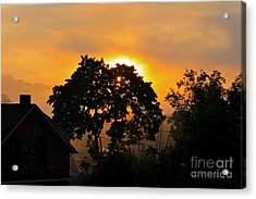 Sunrise Acrylic Print by Jay Nodianos