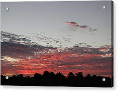 Acrylic Print featuring the photograph Sunrise by John Mathews