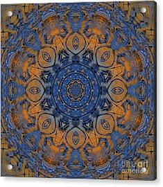 Sunrise Kaleidoscope Acrylic Print