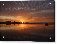 Sunrise Acrylic Print by Kimberly Oegerle