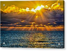 Sunrise Lake Michigan 9-29-13 Acrylic Print