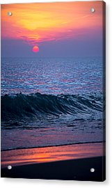 Sunrise Lake Michigan October 5th 001 Acrylic Print