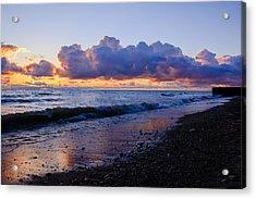 Sunrise Lake Michigan September 2nd 2013 001 Acrylic Print