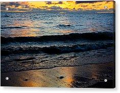 Sunrise Lake Michigan September 2nd 2013 003 Acrylic Print