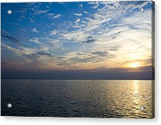 Sunrise Lake Michigan September 7th 2013 003 Acrylic Print