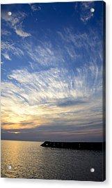Sunrise Lake Michigan September 7th 2013 007 Acrylic Print