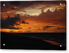 Acrylic Print featuring the photograph Sunrise  by Mim White