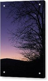 Sunrise Moon Acrylic Print