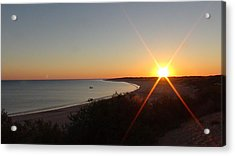 Acrylic Print featuring the photograph Sunrise Near Broome  Australia by Tony Mathews
