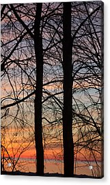 Sunrise Of Lake Huron Acrylic Print by Rhonda Humphreys