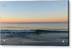Sunrise On Alys Beach Acrylic Print by Julia Wilcox